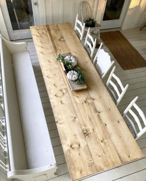 $234 Farmhouse Table